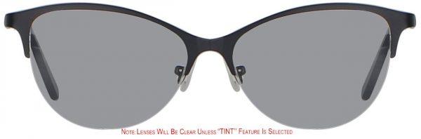 Cat Eye Glasses Tinted